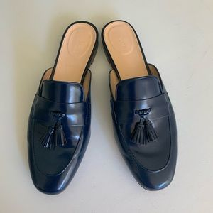 J. Crew Navy Academy Loafer Mule